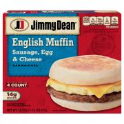 Jimmy Dean Sausage, Egg & Cheese Muffins