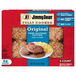 Jimmy Dean Fresh Taste Fully Cooked Sausage Patties