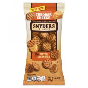 Snyder's Of Hanover Cheddar Cheese Filled Pretzel Sandwiches