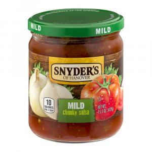 Snyder's of Hanover Mild Chunky Salsa
