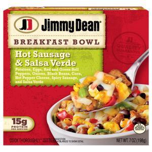 Jimmy Dean Breakfast Bowl Hot Sausage Salsa Verde
