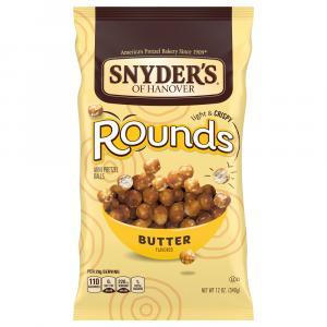 Snyder's of Hanover Rounds Butter Mini Pretzel Balls
