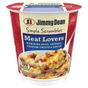 Jimmy Dean Meat Lovers Simple Scrambles
