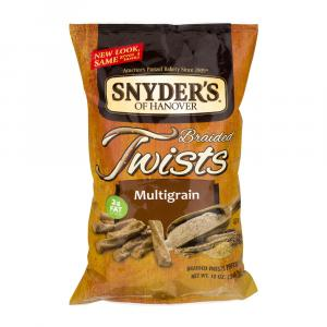 Snyder's Of Hanover Multigrain Braided Twists Pretzels