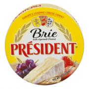 President Plain Brie Cheese