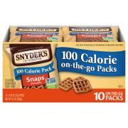 Snyder's of Hanover 100 Calorie Pretzel Snaps