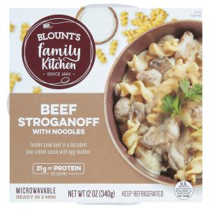 Blount's Family Kitchen Beef Stroganoff with Noodles