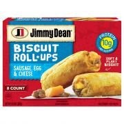 Jimmy Dean Biscuit Roll-Ups Sausage, Egg & Cheese