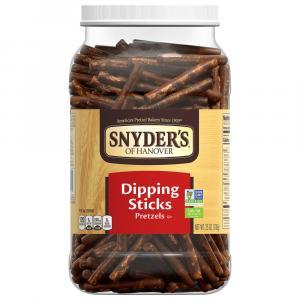 Snyder's of Hanover Dipping Sticks Pretzels Canister