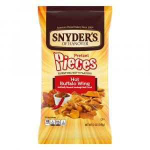 Snyder's of Hanover Hot Buffalo Wing Pretzel Pieces