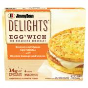 Jimmy Dean Delights Egg'wich Broccoli and Cheese Egg