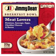 Jimmy Dean Breakfast Bowls Meat Lovers