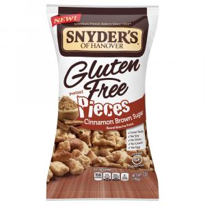 Snyder's of Hanover Gluten Free Pretzel Pieces Cinnamon
