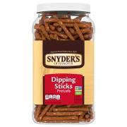 Snyder's of Hanover Dipping Sticks Pretzel Canister