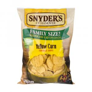Snyder's Of Hanover Family Size Yellow Round Tortillas