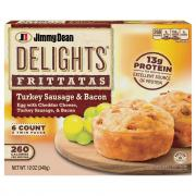 Jimmy Dean Delights Frittatas Turkey Sausage and Bacon