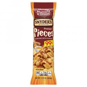 Snyder's of Hanover Honey Mustard and Onion Pretzel Pieces