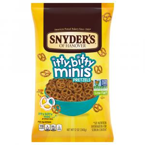 Snyder's of Hanover Itty Bitty Minis