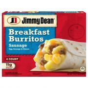 Jimmy Dean Breakfast Burritos Sausage