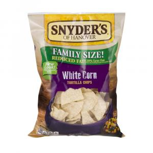 Snyder's Of Hanover White Corn Tortillas Chips