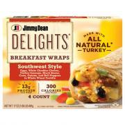 Jimmy Dean Delights Breakfast Wraps Southwest Style