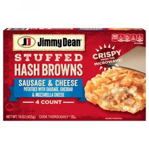 Jimmy Dean Stuffed Hash Browns Sausage & Cheese