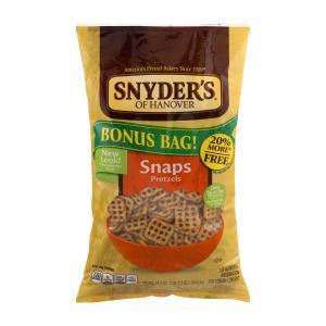 Snyder's Of Hanover Pretzel Snaps