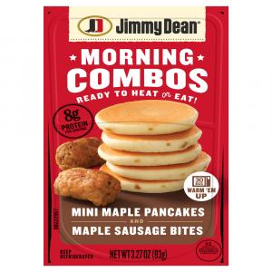 Jimmy Dean Morning Combos Mini Maple Pancakes and Maple