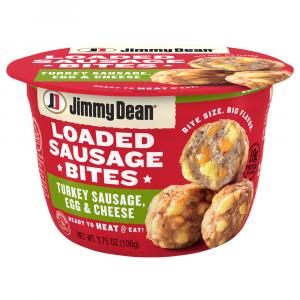 Jimmy Dean Loaded Sausage Bites Turkey Sausage, Egg,& Cheese