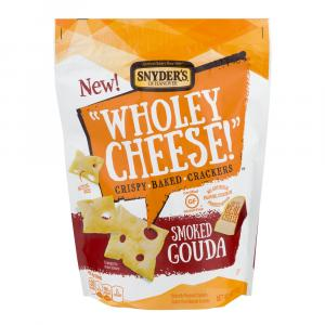 Snyder's of Hanover Wholey Cheese Gluten Free Smoked Gouda