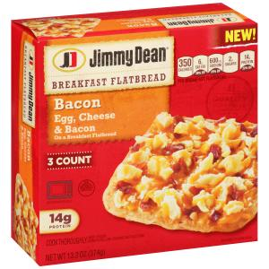 Jimmy Dean Breakfast Flatbread Bacon Egg & Cheese
