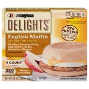 Jimmy Dean Delights Applewood Smoke English Muffin