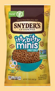 Snyder's Of Hanover Itty Bitty Minis Multi Pack Pretzels