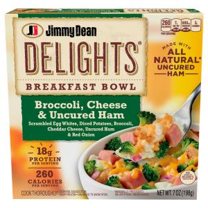 Jimmy Dean Delights Broccoli, Cheese & Ham Breakfast Bowl