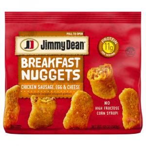 Jimmy Dean Chicken Sausage, Egg & Cheese Nuggets