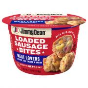 Jimmy Dean Loaded Sausage Bites Meat Lovers