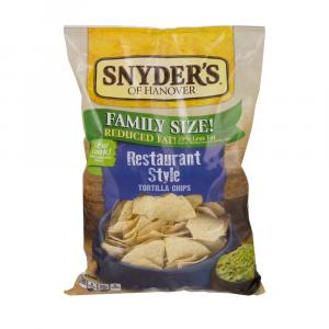 Snyder's Of Hanover Family Size Restaurant Style Tortilla Ch
