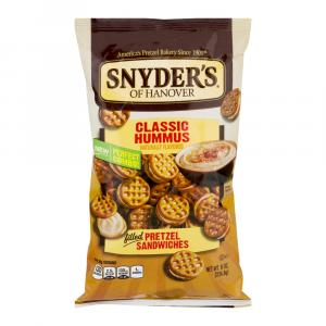 Snyder's Of Hanover Classic Hummus Filled Pretzel Sandwiches