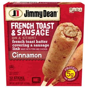 Jimmy Dean Cinnamon French Toast & Sausage On A Stick