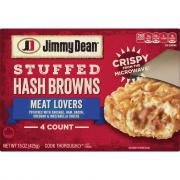 Jimmy Dean Stuffed Hash Browns Meat Lovers