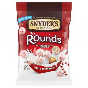 Snyder's of Hanover White Peppermint Pretzel Rounds