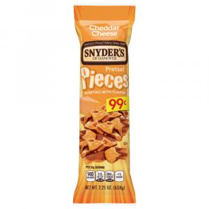 Snyder's of Hanover Cheddar Cheese Pieces Tube