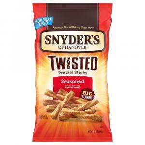 Snyder's Of Hanover Twisted Pretzel Sticks Seasoned