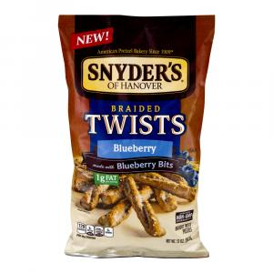 Snyder's Of Hanover Blueberry Braid Twists