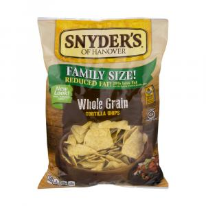 Snyder's Of Hanover Family Size Whole Grain Tortilla Chips