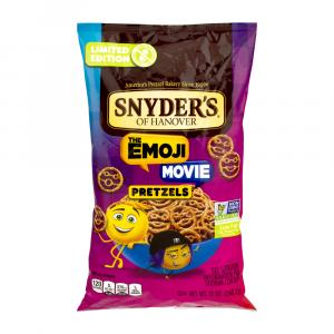 Limited Edition Snyder's Of Hanover The Emoji Movie Pretzels