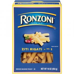 Ronzoni Ziti Rigati