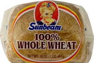 Sunbeam 100% Whole Wheat Bread