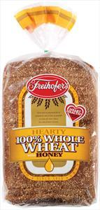 Freihofer's 100% Whole Wheat With Honey Bread