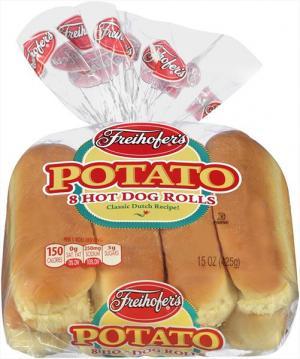 Freihofer's Potato Hot Dog Rolls